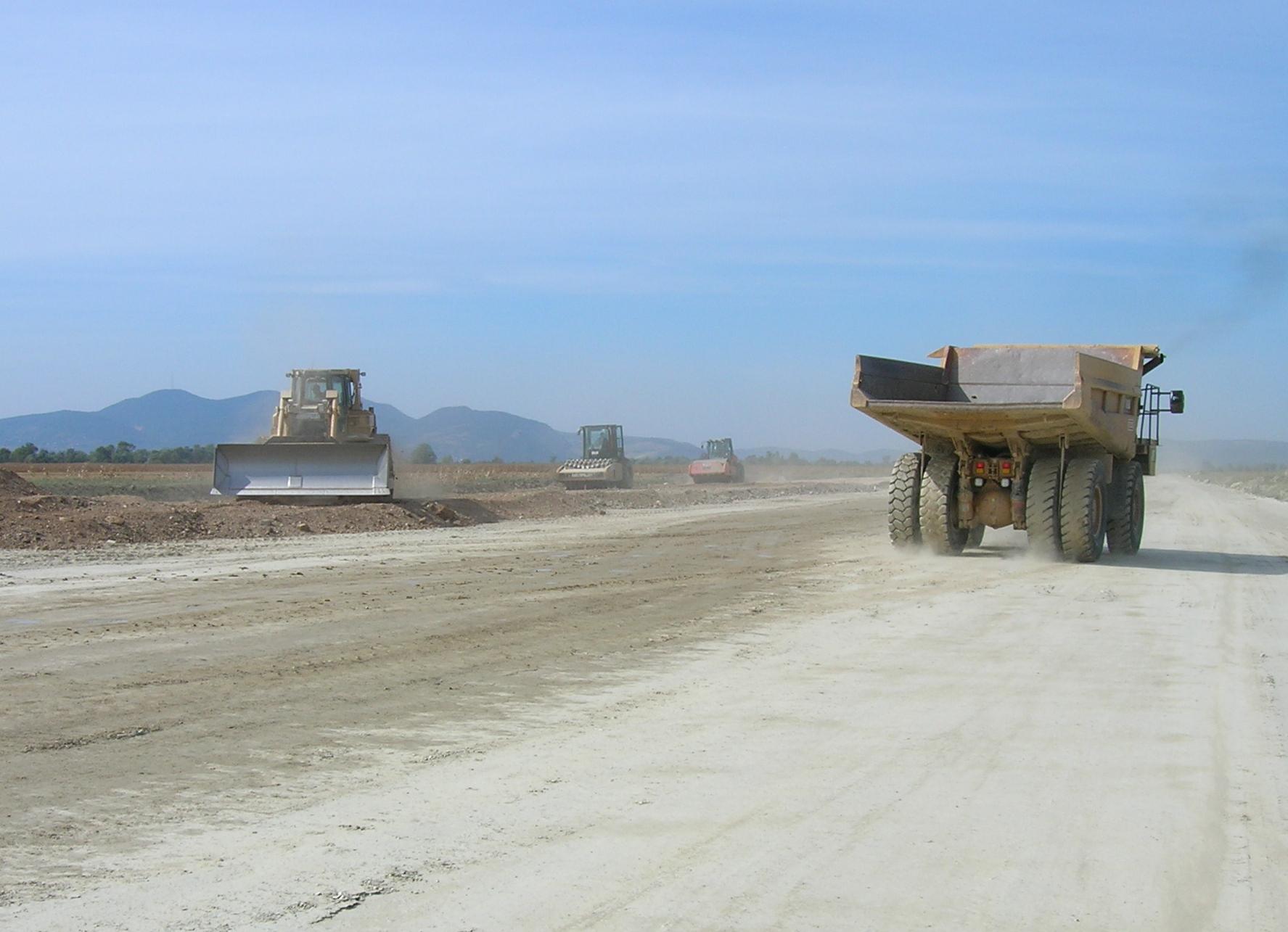 Baulogistik und Management – Autobahnbau Deva-Orastie, Rumänien